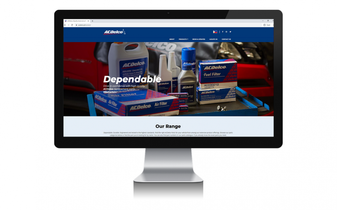 ACDelco PH website revitalized to better serve Philippine market