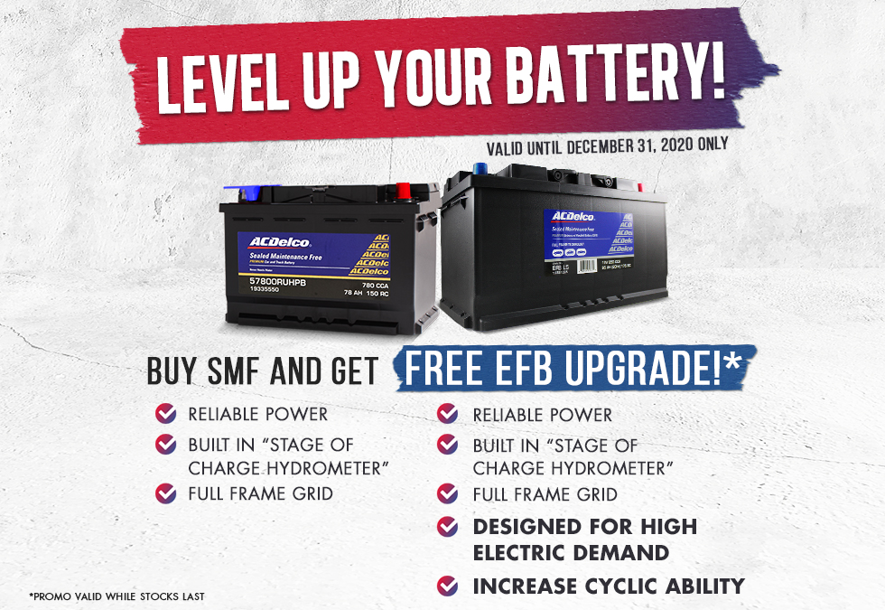 LEVEL UP YOUR CAR BATTERY