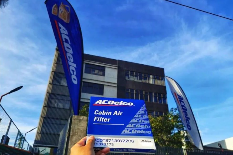 For quality air inside the cabin: ACDelco Cabin Air Filter